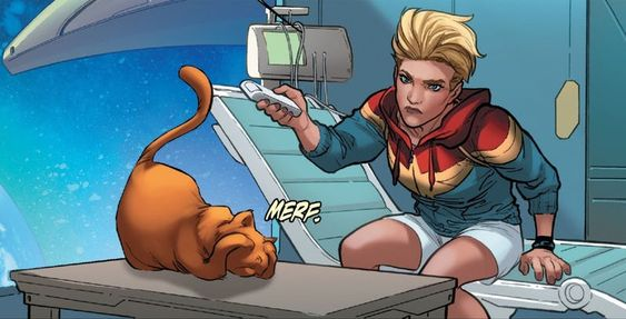 Chewie in Captain Marvel comics