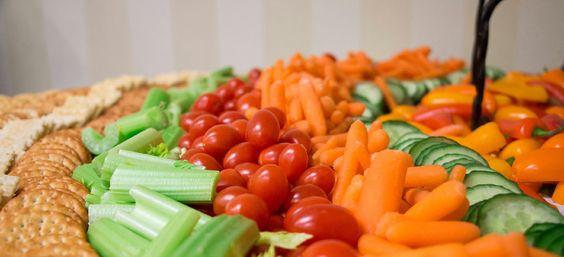 Veggie table display