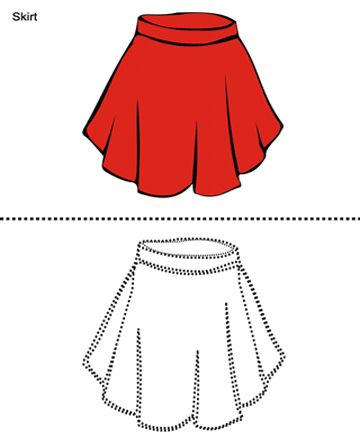 How to draw a wavy skirt - Google Search | how to draws ...