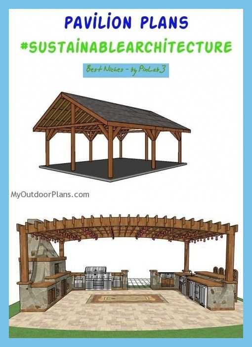 Pavilion Architecture, Outdoor Pavilion Plans