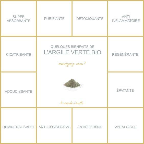Argile Verte Bio Et Ses Bienfaits Complement Alimentaire Argile Verte Bienfaits Sante Naturelle