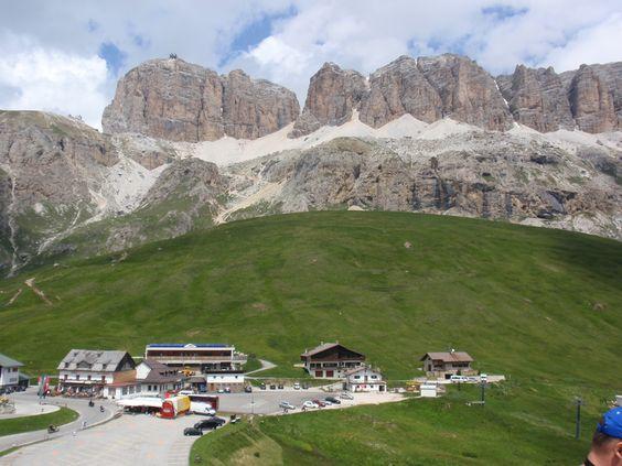 Dolomity Passo Pordoi
