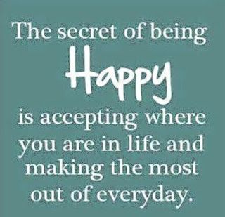 Reflexiones: accepting life as it comes...