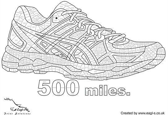 Free Download Running Training Colour Chart 1000 Kilometre Mile Running Journal Running Tracker Running Challenge