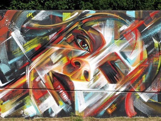 streetartutopia. Street Art by Steve Locatelli in Ghent, Belgium