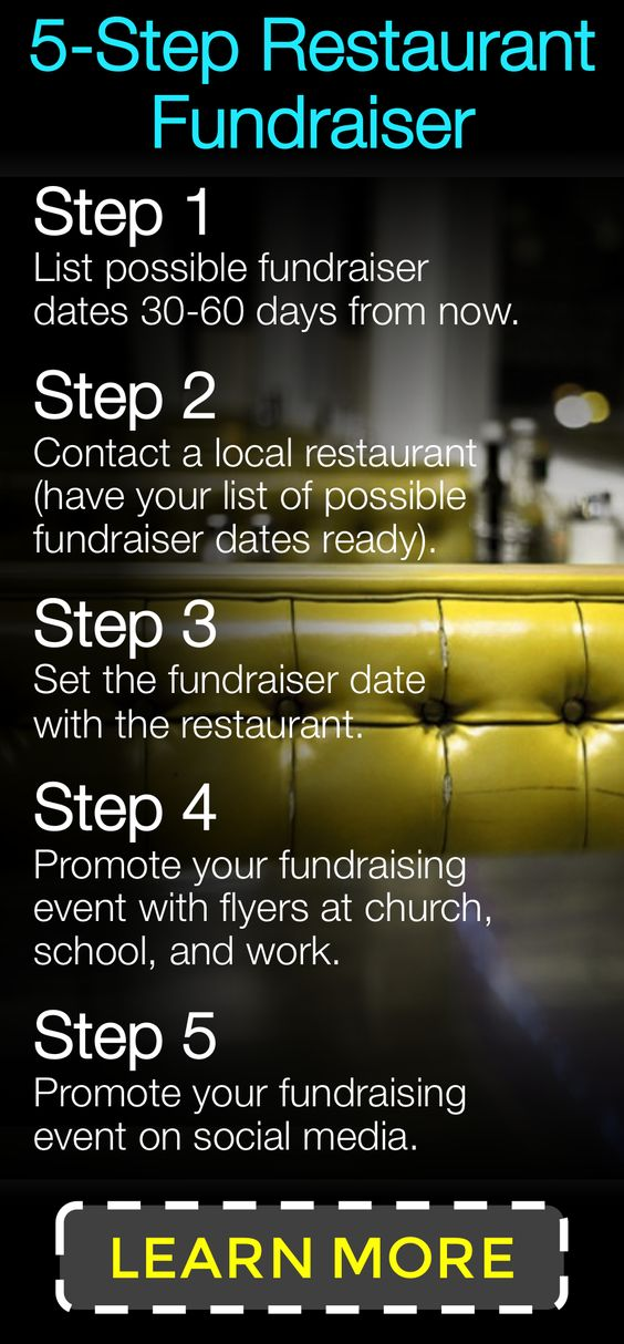 Learn How To Partner With A Local Restaurant To Put