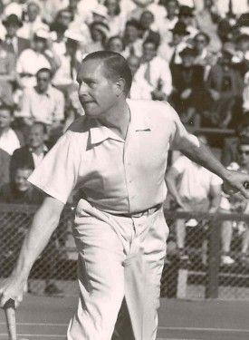 Gottfried Von Cramm, won 82 or 101 Davis Cup contests for Germany and was the 1934 & 1936 French Open Singles Champion, was inducted into International Tennis Hall of Fame in 1977.  #tennis