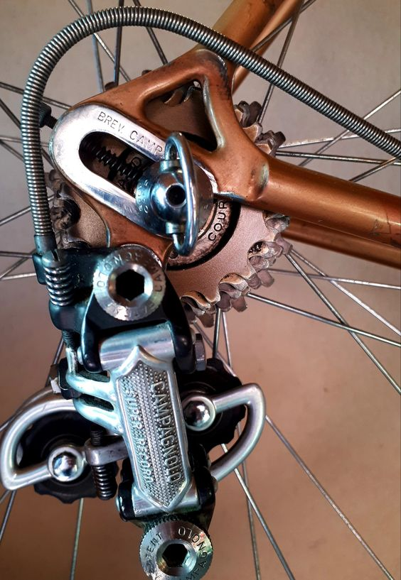 Compagnolo Super Record Vintage Bicycle Parts Bike Repair Bike Components