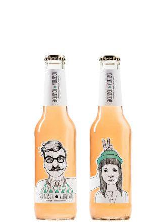 #Kultgetränk aus Mainz von Sechzisch Vierzisch. Persching in de Flasch - würde der gemeine #Rheinhesse es nennen. #Persching ist ein traditionelles Mischgetränk aus Rheinhessen. Erfinder Patrick Lohman war es ein Bedürfnis, dieses coole Getränk einfach in die Welt herauszutragen. Schmeckt fruchtig leicht mit Aromen von Orange und lieblichen #Roséwein. We love it!