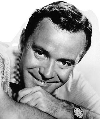 Jack Lemmon - coming out of Van Cleef and Arpels on Rodeo Drive in Beverly Hills
