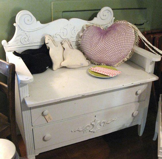 Dresser to seat