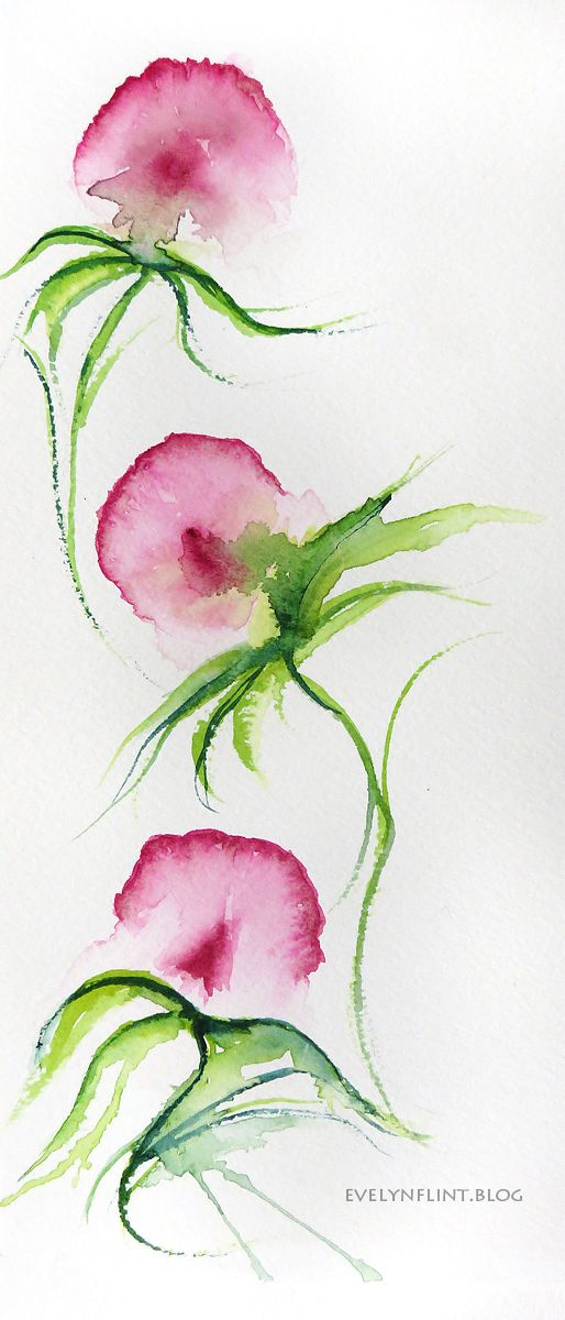 Sweet Peas Watercolor By Evelyn Flint Sweet Pea Flower Quotes