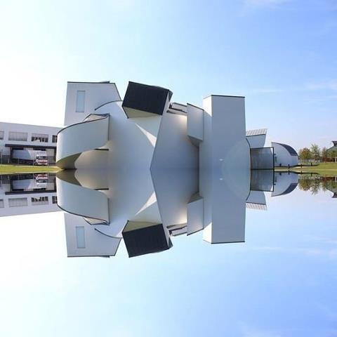 #Insolite #Architecture Dans cet immeuble...où est quoi et quoi est où?