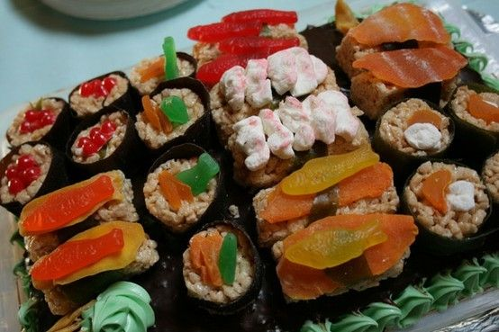 Candy sushi! #candy