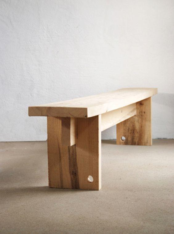 Holzbank eBook, Bauanleitung - für eine Holzbank via DaWanda.com