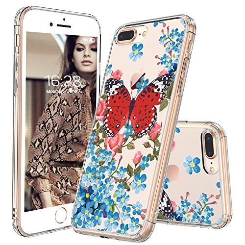 Iphone 8 Plus Case Iphone 7 Plus Cover Mosnovo Fashion Butterfly Printed Clear Design Plastic Ha Iphone Case Fashion Iphone Case Collection Cool Iphone Cases