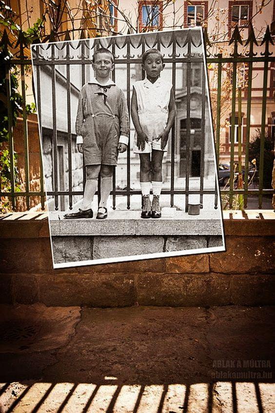Fusión del pasado y el presente en imágenes « Notas Curiosas