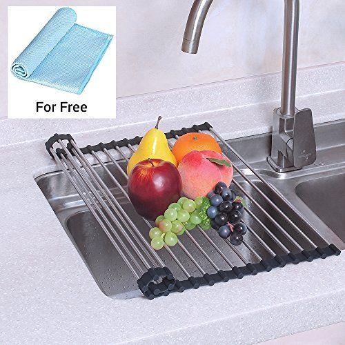 Nex Dish Drying Rack Over The Sink Folding Dish Drainer F Https Www Amazon Com Dp B06xt5ln2j Ref Cm Sw R Pi Dp U X Dish Rack Drying Dish Racks Drying Rack