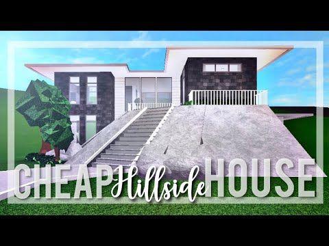 Bloxburg Cheap Hillside House Cheap Houses Family House