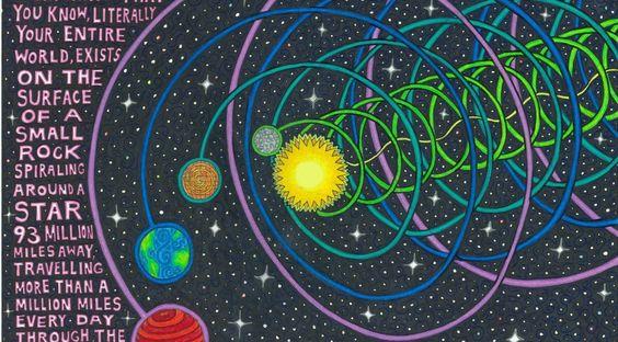 Vortex movement of Solar System