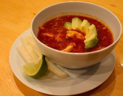Tortilla Soup, Hold The Tortillas.