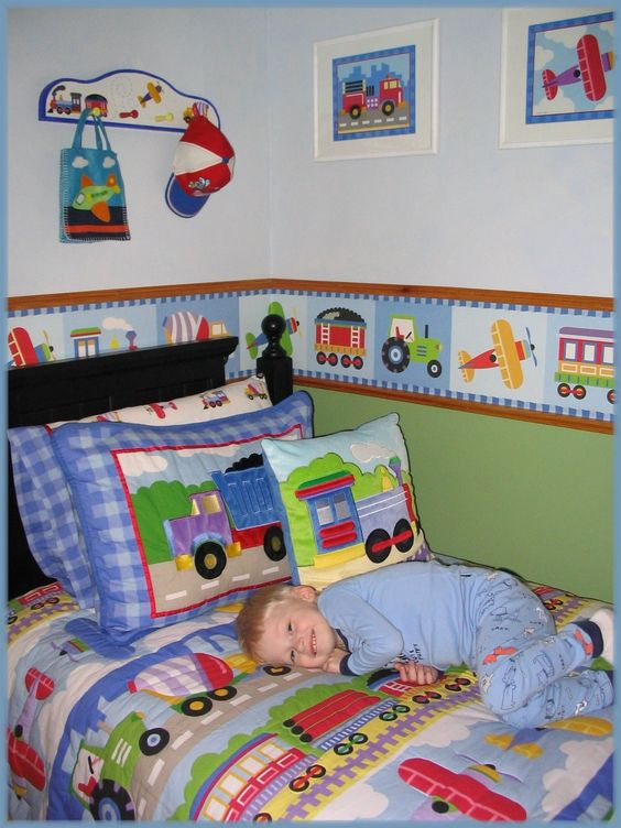 Boys bedroom bedding