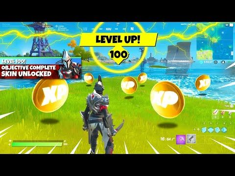 How To Get Level 100 In Fortnite Today Fast Youtube In 2020 Fortnite Level Up Pokemon