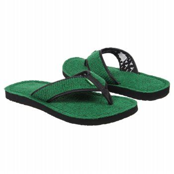 Sanuk Fur Real II Sandals (Green) - Men's Sandals - 12.0 M