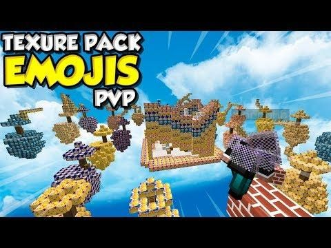 Texture Pack De Emojis Pvp With Images Texture Packs Texture