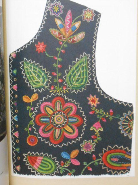 ポーランドの民族衣装の刺繍と装飾/解説書-Bookshop赤ずきん ++ POLISH EMBROIDERY ++