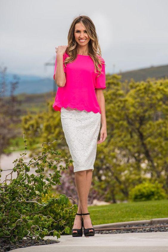 Mindy Lace Skirt