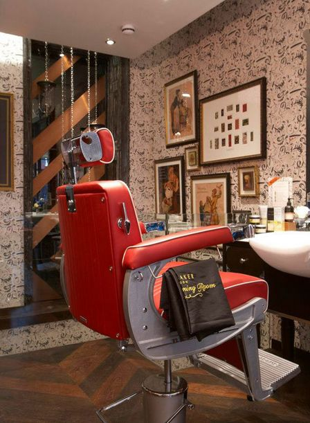 Barber Shop Decor : Barber shop, Barber shop decor and Barber shop interior on Pinterest