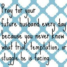 I pray on this day April 17th 2012 for your future husband! You are such a special daughter I love YOU Abigail Elisabeth Miles