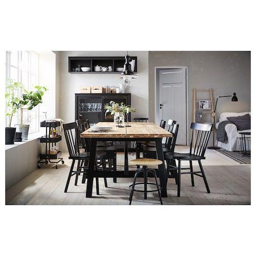 Skogsta Dining Table Acacia Ikea, Ikea Dining Room Furniture