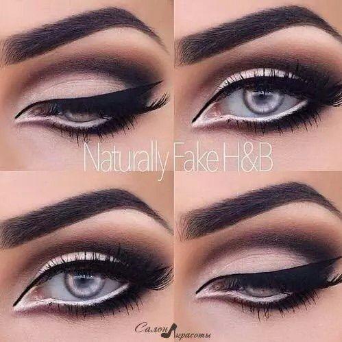 Image via We Heart It #beauty #eyeliner #fashion #girls #makeup #makeup #maquillaje