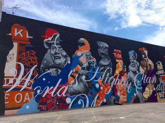 Tristan Eaton was part of the first edition of Pow! Wow! Long Beach which just took place in California.