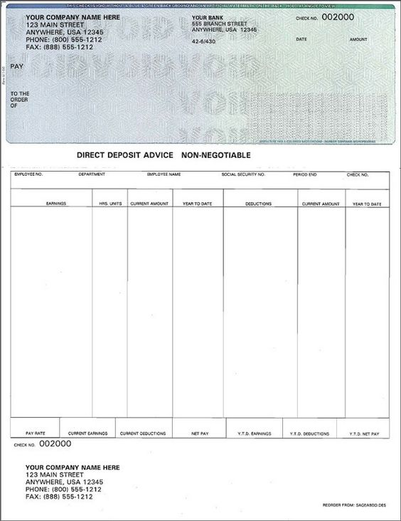 Pay Stub Template Taxman Central providing services for tax - blank pay stubs template