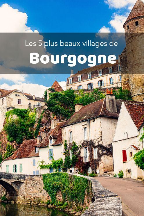 Les Plus Beaux Villages De Bourgogne : beaux, villages, bourgogne, Beaux, Villages, Bourgogne, Tourisme,, Visiter, Bourgogne,, Tourisme, France