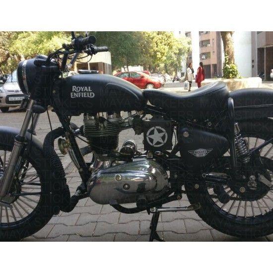 Sticker Decal Royal Enfield vintage motorcycle bike