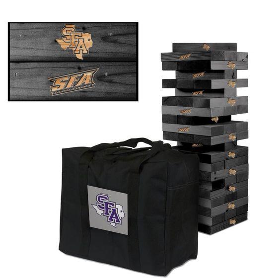 Stephen F. Austin Lumberjacks Tumble Tower Game Set Onyx