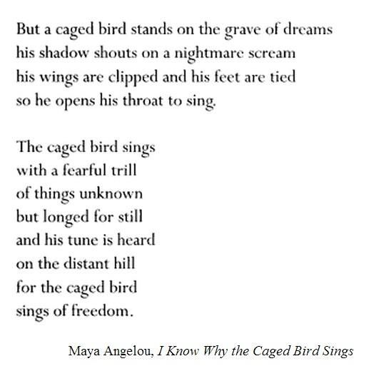 I Know Why Caged Birds Sing Words Inspirational Words Quotes To Live By