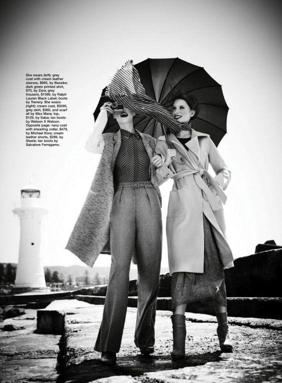 cool Marie Claire Austrália Julho 2013 | Caitlin Sanderson e Rhianna Porter por Corrie Bond  [Editorial]