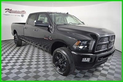 awesome 2016 Ram 3500 Big Horn 4x4 Cummins Diesel Crew cab Truck Longbed - For Sale