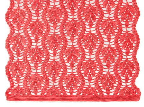 Sari Shawl | crochet today--   I am SO looking for a shawl pattern using the same motif: anybody seen it ?