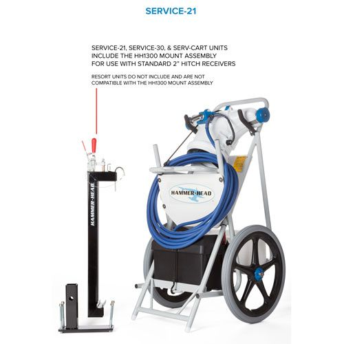 Hammer Head Service Portable Commercial Vacuum From In The Swim