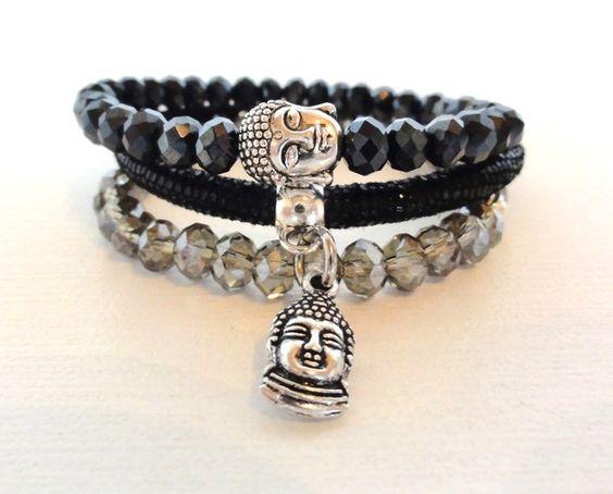 """dreiteiliges Armband """"Buddha"""""""