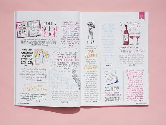 Cosmopolitan Bride - Real Wedding Special, issue 6 www.cosmopolitanbride.com.au