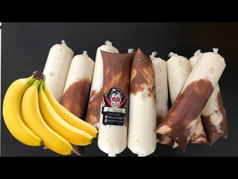 Venda Muito Esse Geladinho Gourmet De Banana Com Chocolate