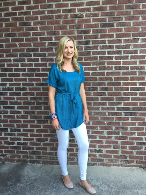 Love this, just not in blue! Pixley Polly Tie Waist Tunic - love the color and style for warmer weather