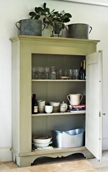 Products / Furniture / Cupboards / Armoires / Cabinets El Passo Pantry Cupboard | Block and Chisel